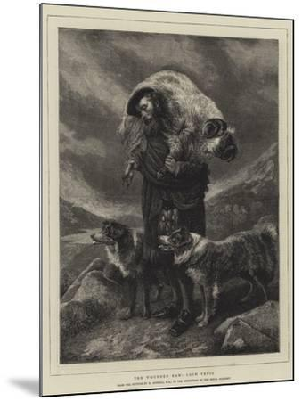 The Wounded Ram, Loch Freig-Richard Ansdell-Mounted Giclee Print