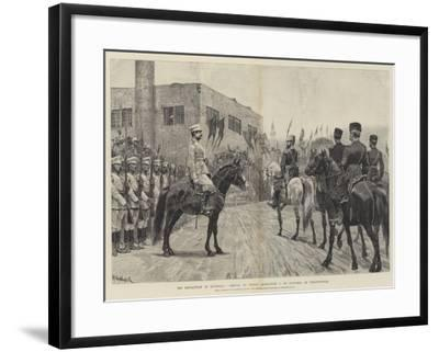 The Revolution in Roumelia, Arrival of Prince Alexander I of Bulgaria at Philippopolis-Richard Caton Woodville II-Framed Giclee Print