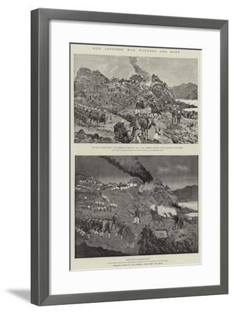 How Japanese War Pictures are Made-Richard Caton Woodville II-Framed Giclee Print