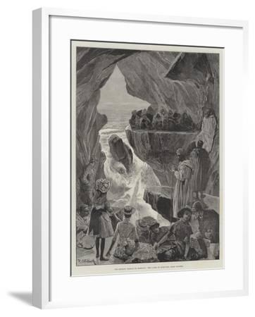 The British Mission to Morocco, the Caves of Hercules, Near Tangier-Richard Caton Woodville II-Framed Giclee Print
