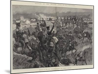 Battles of the British Army, Talavera, Charge of the 23rd Dragoons Against the French Squares-Richard Caton Woodville II-Mounted Giclee Print