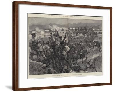 Battles of the British Army, Talavera, Charge of the 23rd Dragoons Against the French Squares-Richard Caton Woodville II-Framed Giclee Print