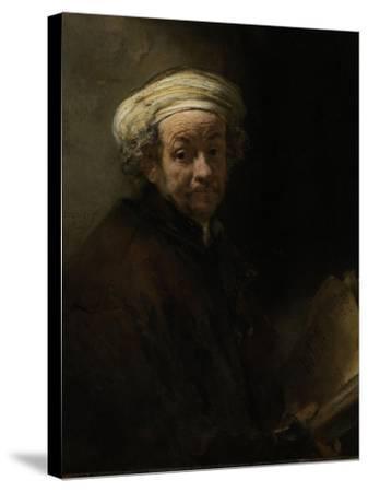 Self Portrait as the Apostle Paul, 1661-Rembrandt van Rijn-Stretched Canvas Print