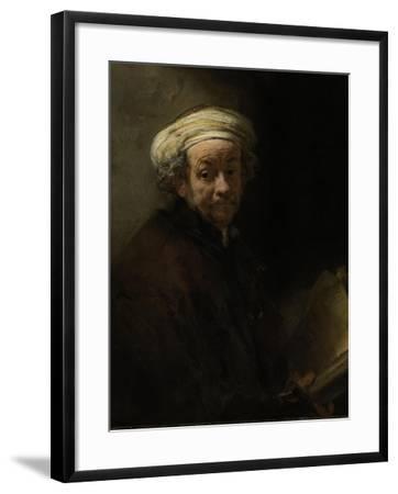 Self Portrait as the Apostle Paul, 1661-Rembrandt van Rijn-Framed Giclee Print