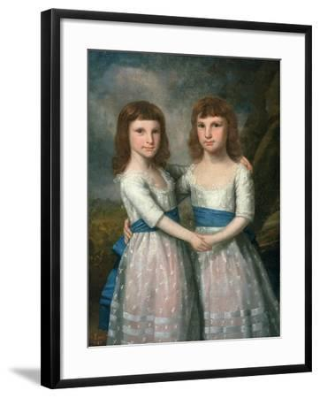 The Stryker Sisters, 1787-Ralph Earl-Framed Giclee Print