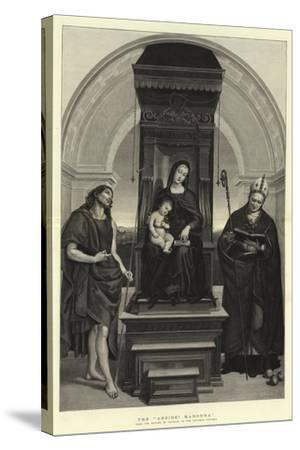 The Ansidei Madonna-Raphael-Stretched Canvas Print