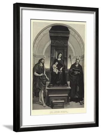 The Ansidei Madonna-Raphael-Framed Giclee Print