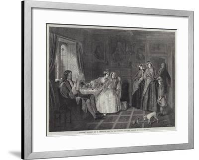 Country Cousins-Richard Redgrave-Framed Giclee Print