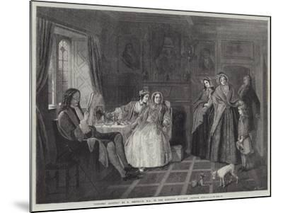 Country Cousins-Richard Redgrave-Mounted Giclee Print