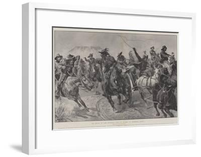The Defeat of Lord Methuen's Force by Delarey at Tweebosch, 7 March-Richard Caton Woodville II-Framed Giclee Print