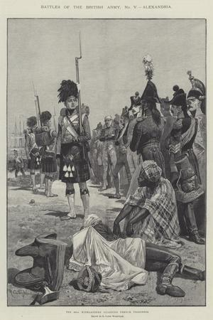 Battles of the British Army, Alexandria-Richard Caton Woodville II-Stretched Canvas Print