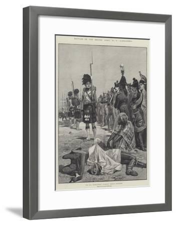 Battles of the British Army, Alexandria-Richard Caton Woodville II-Framed Giclee Print