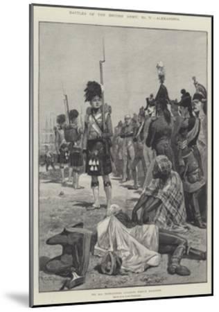 Battles of the British Army, Alexandria-Richard Caton Woodville II-Mounted Giclee Print