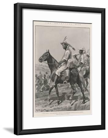 The Transvaal War-Richard Caton Woodville II-Framed Giclee Print
