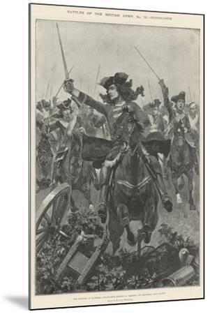 Battles of the British Army, Oudenarde-Richard Caton Woodville II-Mounted Giclee Print