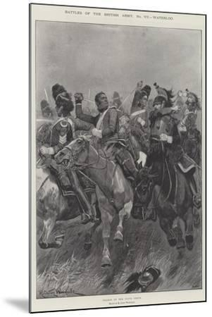 Battles of the British Army, Waterloo-Richard Caton Woodville II-Mounted Giclee Print