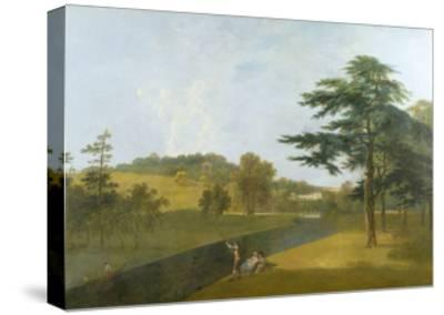 Wilton, Inigo Jones Stables, Temple Copse and Sir William Chambers' Arch-Richard Wilson-Stretched Canvas Print
