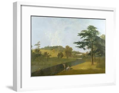 Wilton, Inigo Jones Stables, Temple Copse and Sir William Chambers' Arch-Richard Wilson-Framed Giclee Print