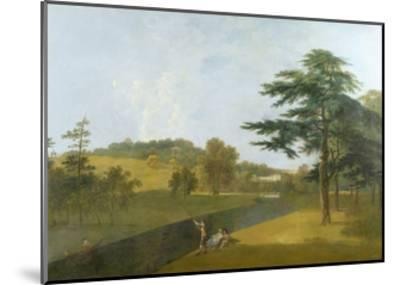 Wilton, Inigo Jones Stables, Temple Copse and Sir William Chambers' Arch-Richard Wilson-Mounted Giclee Print