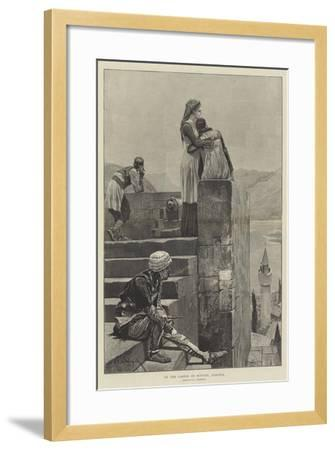 On the Castle at Scutari, Albania-Richard Caton Woodville II-Framed Giclee Print