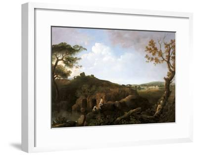 The Alban Hills-Richard Wilson-Framed Giclee Print