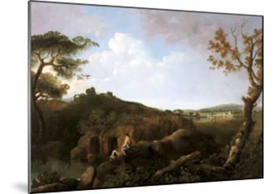 The Alban Hills-Richard Wilson-Mounted Giclee Print