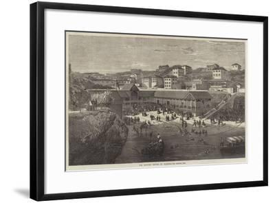 The Morning Lounge at Biarritz-Richard Principal Leitch-Framed Giclee Print