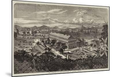 The Harbour of Hong Kong-Richard Principal Leitch-Mounted Giclee Print