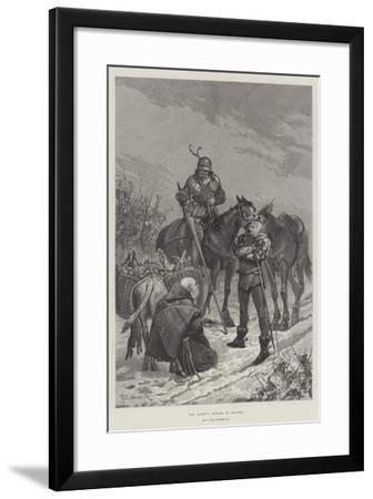 The Abbot's Larder in Danger-Richard Caton Woodville II-Framed Giclee Print