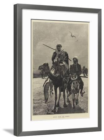 Spoils from the Desert-Richard Caton Woodville II-Framed Giclee Print