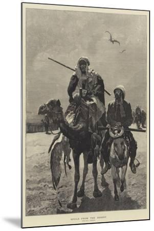 Spoils from the Desert-Richard Caton Woodville II-Mounted Giclee Print