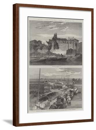 The Capture of Ningpo-Richard Principal Leitch-Framed Giclee Print