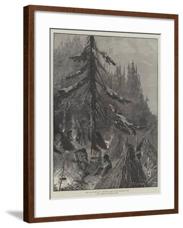 The War in the East, Bulgarian Camp in the Dragoman Pass-Richard Caton Woodville II-Framed Giclee Print