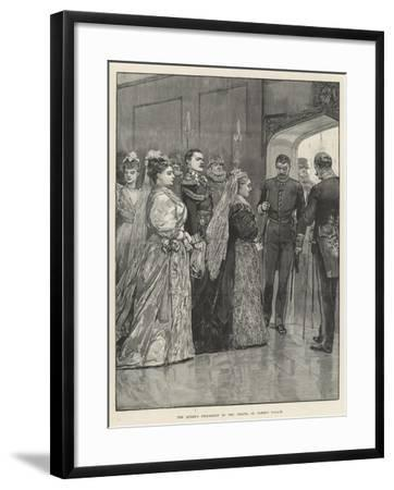 The Queen's Procession to the Chapel, St James's Palace-Richard Caton Woodville II-Framed Giclee Print