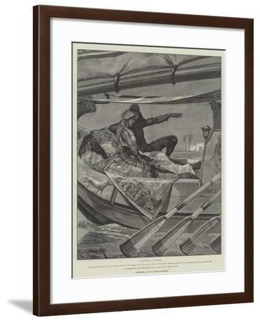 Cleopatra-Richard Caton Woodville II-Framed Giclee Print