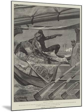 Cleopatra-Richard Caton Woodville II-Mounted Giclee Print
