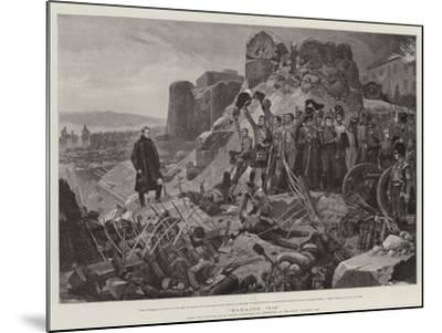 Badajos, 1812-Richard Caton Woodville II-Mounted Giclee Print