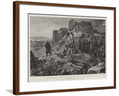 Badajos, 1812-Richard Caton Woodville II-Framed Giclee Print