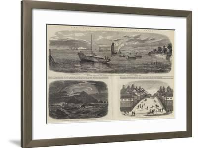The Earl of Elgin's Visit to Japan-Richard Principal Leitch-Framed Giclee Print