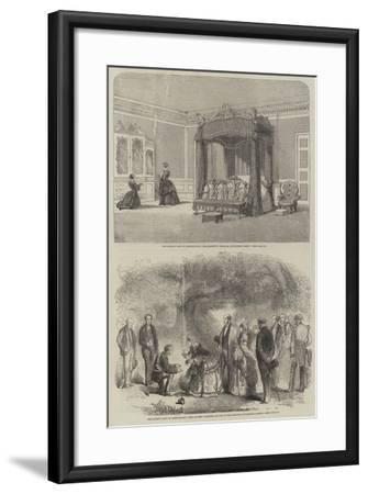The Queen's Visit to Birmingham-Richard Principal Leitch-Framed Giclee Print