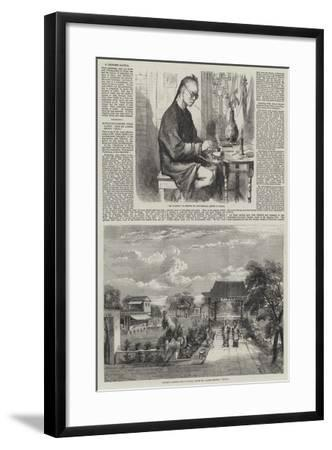 Sketches in China-Richard Principal Leitch-Framed Giclee Print