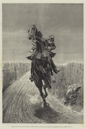Maruja-Richard Caton Woodville II-Stretched Canvas Print