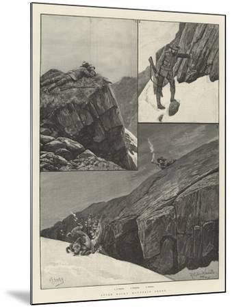 After Rocky Mountain Sheep-Richard Caton Woodville II-Mounted Giclee Print