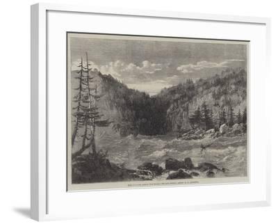 The Niagara Above the Falls-Richard Principal Leitch-Framed Giclee Print