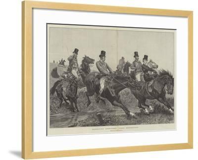 Hereditary Sportsmen, Three Generations-Richard Caton Woodville II-Framed Giclee Print