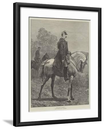 King Milan of Servia-Richard Caton Woodville II-Framed Giclee Print