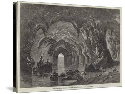 The Blue Grotto at Capri-Richard Principal Leitch-Stretched Canvas Print