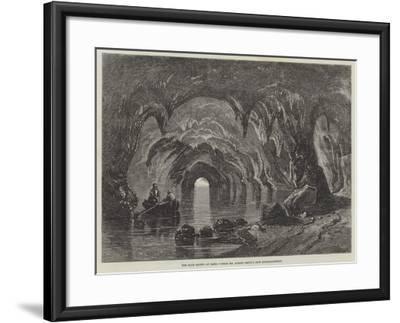 The Blue Grotto at Capri-Richard Principal Leitch-Framed Giclee Print