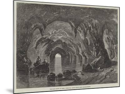 The Blue Grotto at Capri-Richard Principal Leitch-Mounted Giclee Print