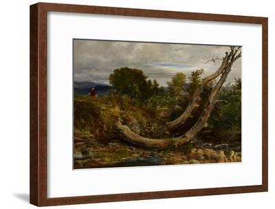 The Heron Disturbed, C.1850-Richard Redgrave-Framed Giclee Print